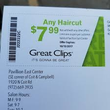 are haircuts still 7 99 at great clips great clips salon barbershop
