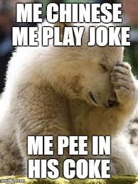 Coke Bear Meme - facepalm bear meme imgflip