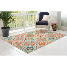 Turquoise Outdoor Rug Better Homes And Gardens U0026nbsp Bright Floral U0026nbsp Indoor Outdoor