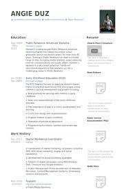 marketing resume template resume template digital marketing resume template free career