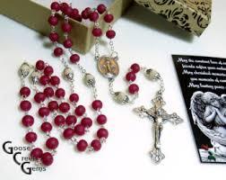 petal rosary goose creek petal s tears rosaries by goosecreekgems