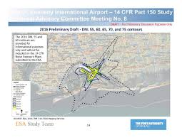 Map Of Jfk Airport New York by Latest Draft Noise Maps Made Public For Jfk U0026 Laguardia Airports