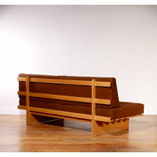 daybed sofa in oak and wool by bra bohag 1960s design market