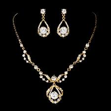 wedding necklace earrings images Karina necklace earrings set elegant bridal hair accessories jpg