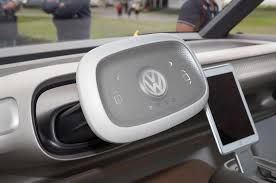 volkswagen bus 2016 interior volkswagen i d buzz concept first drive review automobile magazine