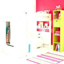 armoire bureau intégré lit mezzanine avec armoire et bureau lit en hauteur avec bureau