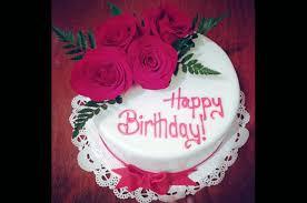 Roses Birthday Cake Sweet U0026 Shiny