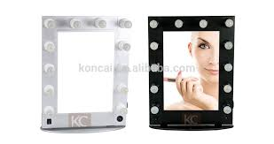 small mirror with lights beautiful design beauty station furniture small led make up mirror