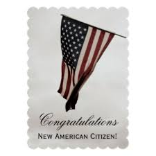 citizenship congratulations card new citizen congratulations cards invitations zazzle co nz