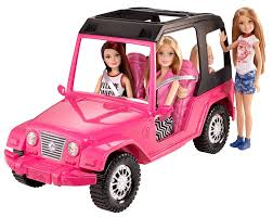 barbie corvette barbie sisters u0027 cruiser walmart com