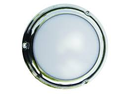 low profile stainless steel led dome light t h marine supplies