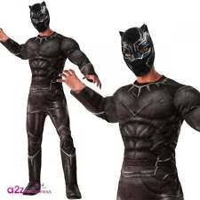 Black Panther Marvel Halloween Costume Marvel Civil War Black Panther Men U0027s Size 44 Standard Superhero
