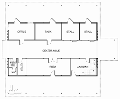 shop with living quarters floor plans best of home plans barn