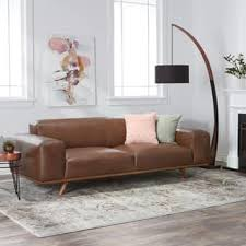 Camel Color Leather Sofa Leather Sofas Couches For Less Overstock