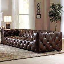 chesterfield leather sofa used living room restoration hardware leather sofas sectional replica