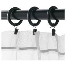 portion curtain ring with clip and hook ikea