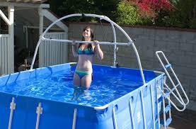 above ground lap pool decofurnish mini above ground lap pool and exercise decofurnish