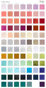 solid color chart fabric sample wedding ties