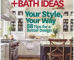 kitchen and bath ideas magazine kitchen and bath magazine kitchen bath design march 2017