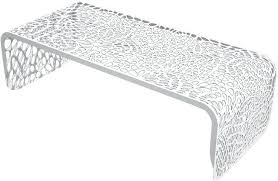 white outdoor side table round metal outdoor coffee table bench outdoor coffee table with