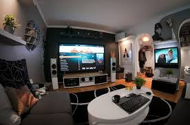A Modern Home Entertainment Setup  Interior Design Living - Living room designs 2012