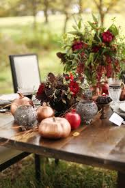 Fall Table Decor 30 Fabulous Fall Wedding Tablescapes To Inspire Your Thanksgiving