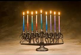 menorah candles rabbi menorah 9 candle in solid bronze