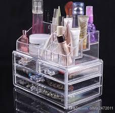 Box Makeup 2018 cheap price transparent makeup box acrylic cosmetics organizer
