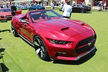 2015 ford mustang s550 ford mustang sixth generation