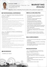 Example Marketing Resume click here to download this word resume marketing director
