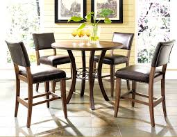 bedroom glamorous round bar height table and chairs dining room