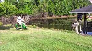 john deere gx85 riding lawn mower u0026 gator youtube