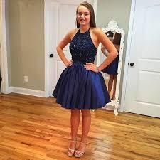 where to buy graduation dresses fashion navy blue a line homecoming dresses 2016 hot sale