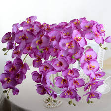 Fake Flowers For Wedding Aliexpress Com Buy Fashion Orchid Artificial Flowers Diy