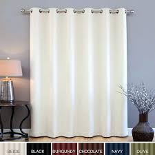 Black And White Thermal Curtains Curtain Sliding Door Islademargarita Info