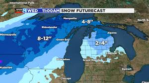 Radar Map Of Michigan by Mid Week Storm Not Much Snow For W Mi Woodtv Com