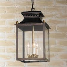3 light federal hanging lantern this historical hanging lantern