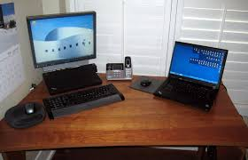 Laptop Desk Setup Best Hd Lovely Laptop Desk Setup With The Whirled Library