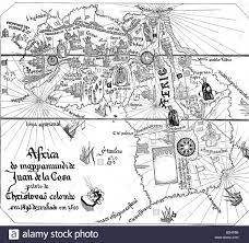 World Map Africa by Cartography Maps Africa Detail From The World Map Of Juan De La