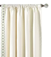 White Curtain Panel Luxury Bedding By Eastern Accents Filly White Curtain Panel Right