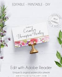the 25 best place card template ideas on pinterest free place