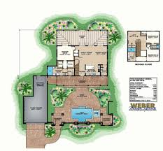 baby nursery house plan with courtyard house u shaped plan with
