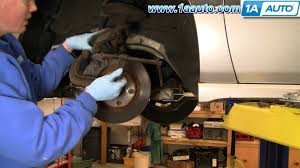 how to install repair replace front disc brakes chevy impala 00 05