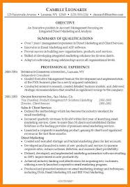 Skills Summary Resume Sample Summary Resume Sample Great Resume Qualification Cover Letter