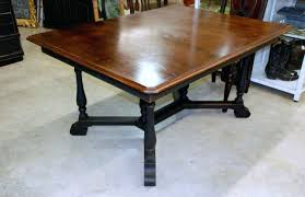 dining table chatsworth dark wood extending dining table with 6
