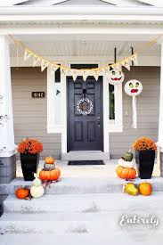 Fall Decorations For Outside The Home 35 Best Halloween U0026 Fall Porch Decoration Images On Pinterest