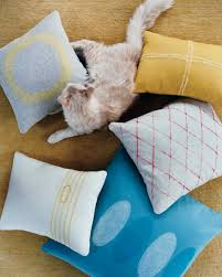 pillow projects martha stewart