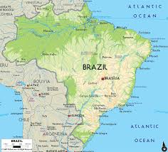 A Map Of The Usa by Brazil Map Free Large Images Mapas Pinterest Brazil South