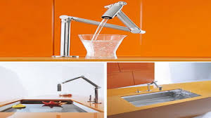 Sensate Kitchen Faucet Kohler Articulating Kitchen Faucet Best Faucets Decoration