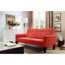 Orange Leather Sofa Orange Sofas You U0027ll Love Wayfair